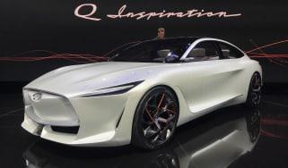 Infiniti Q Inspiration Concept - Detroit front