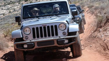 75 years of Jeep - Wrangler silver front
