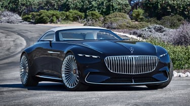 Vision Mercedes-Maybach 6 Cabriolet - front roof closed
