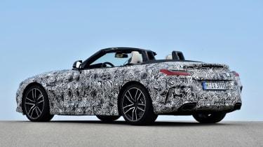 BMW Z4 prototype - rear static