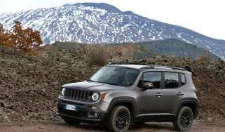 Jeep Renegade Night Eagle side front