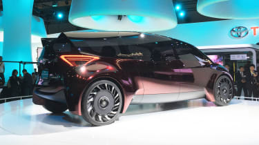 Toyota Fine-Comfort Ride concept - Tokyo rear/side