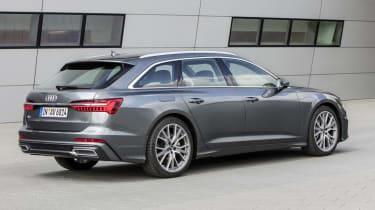 Audi A6 Avant - rear