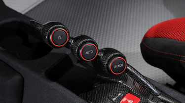Ferrari 458 Speciale buttons