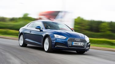 Audi A5 - front cornering