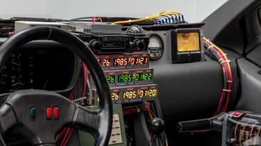 Petersen Automotive Museum - DMC DeLorean Back to the Future - interior