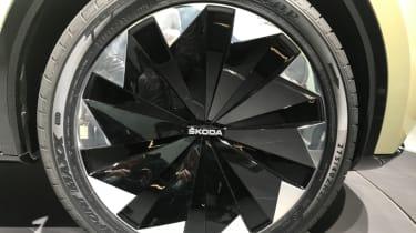 Frankfurt - Skoda Vision E - wheel