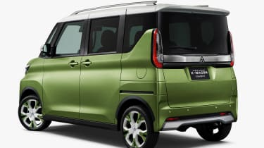 Mitsubishi Super Height K-Wagon concept - rear static