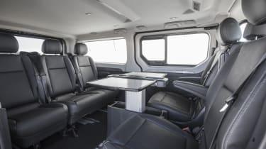 Renault Trafic SpaceClass van - seats