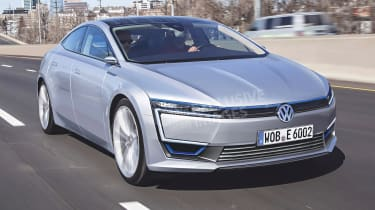 Volkswagen XL3 - front (exclusive image)