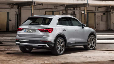 Audi Q3 - rear silver