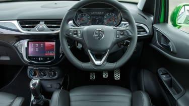 Vauxhall Corsa VXR - dash