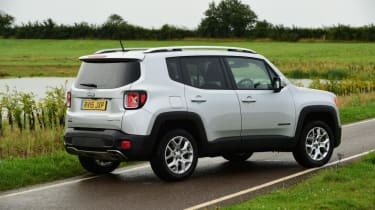Used Jeep Renegade - rear