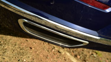 Twin test - VW Arteon - exhaust