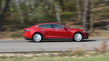 Tesla Model S long-term final report - side