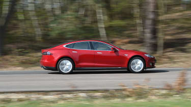 Tesla Model S long-term final report - side