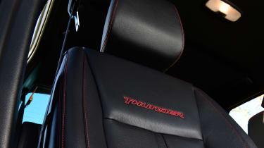 Ford Ranger Thunder - seat