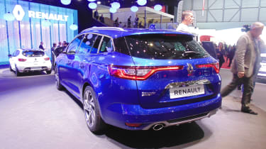 Renault Megane Sport Tourer Geneva - rear three quarter
