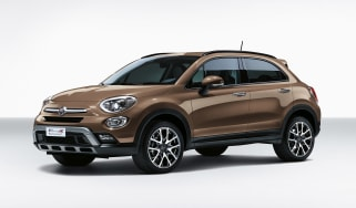 Fiat 500X in Donatello Bronze paint