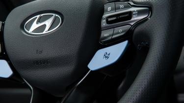 Hyundai i30 N - steering wheel detail