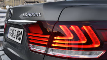 Lexus LS 600h badge