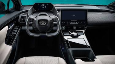 Toyota bZ4X concept - dash