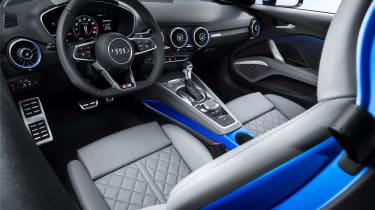 Audi TT S - studio cabin