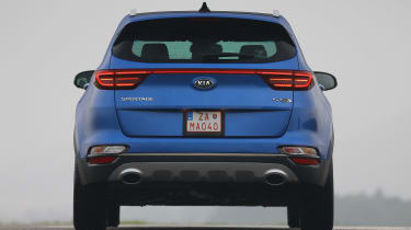 Kia Sportage - full rear