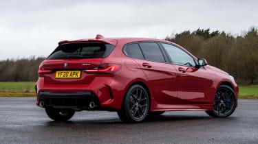 BMW 120d - rear