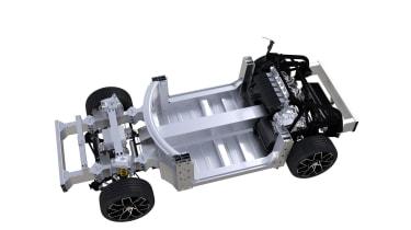 Piech Mark Zero hybrid platform