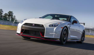 Nissan GT-R Nismo action