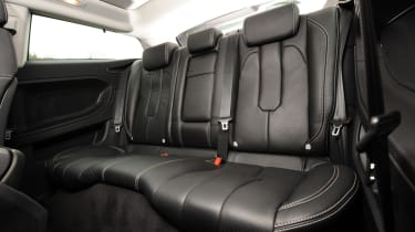Range Rover Evoque Coupe rear seats