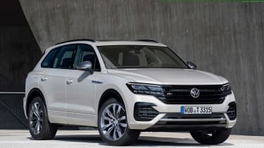 VW Touareg One Million - front static