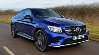 Mercedes-AMG GLC 43 Coupe - front