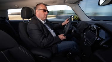 MINI Cooper SE prototype - John McIlroy