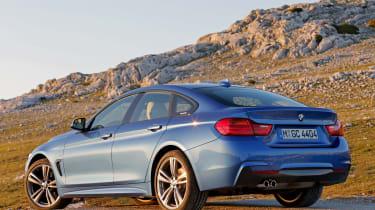 BMW 4 Series Gran Coupe 2014 static rear