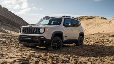 Jeep Renegade Desert Hawk front quarter