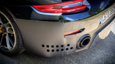 Porsche GT2 RS prototype - exhaust