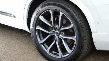 Volvo XC90 long term - wheel detail