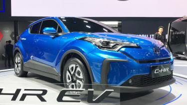 Toyota C-HR EV - front blue