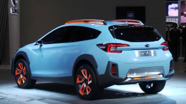 Subaru XV concept - show rear/side