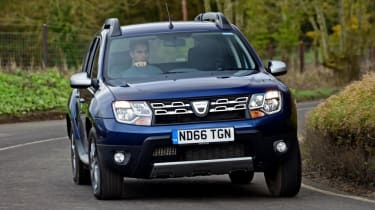 Dacia Duster - front