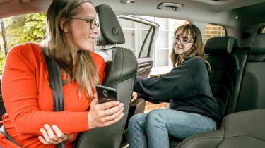 Skoda Parent Taxi app
