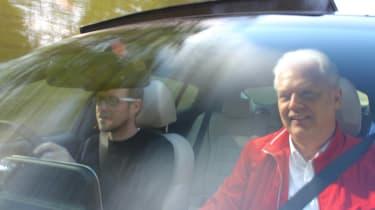 Kia Stinger - Sean Carson driving