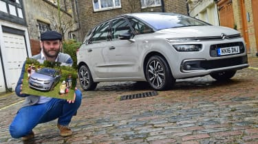 Citroen C4 Picasso long termer third report - header