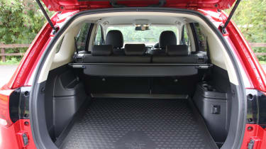 New 2019 Mitsubishi Outlander PHEV cargo space