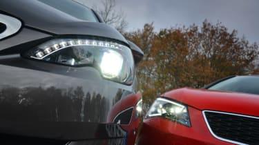 Peugeot 308 vs SEAT Leon pictures | Auto Express