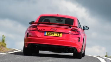 Audi TT RS -  rear corner