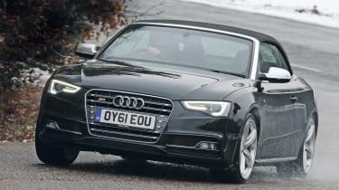 Audi S5 Cabriolet front cornering