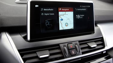 BMW 2 Series Active Tourer infotainment